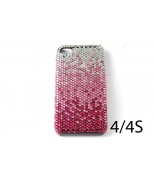 Fading Fuchsia Crystal Case For  Iphone 4, 4s