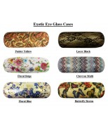 Exotic Eye Glass Cases In Various Designs And C...