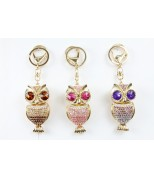 Popping Eyes Owl Key Chain